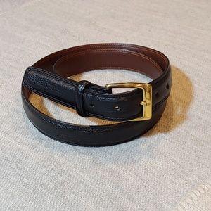 Cole haan genuine leather belt